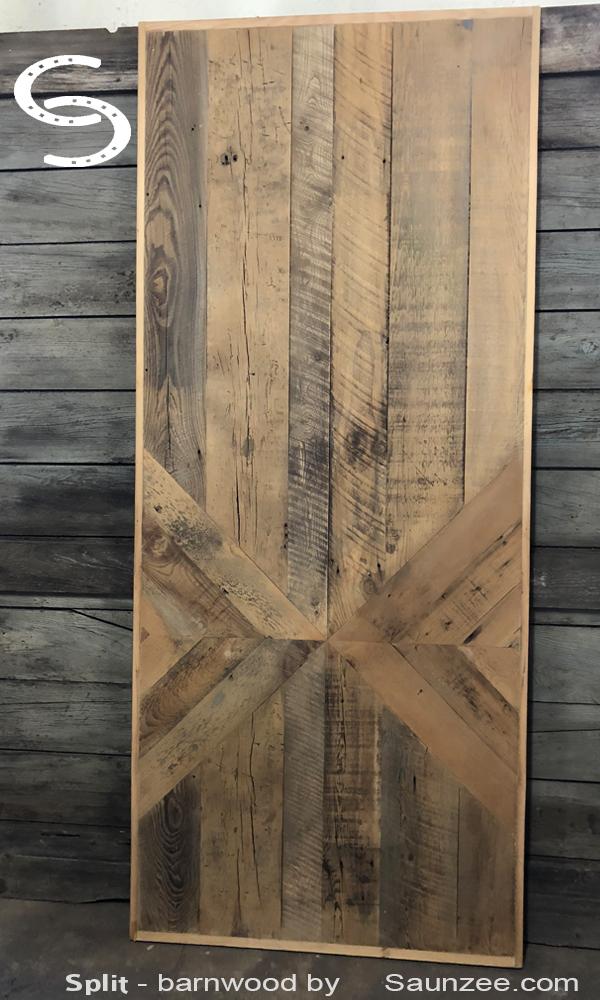 Saunzee Signs Split Barnwood Furniture