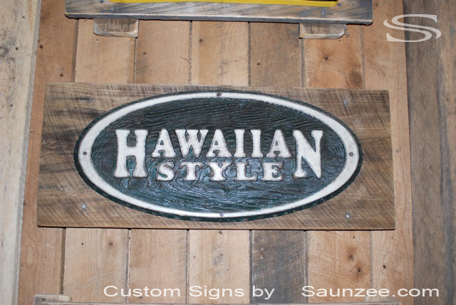 Saunzee Custom Barn Wood Sign Timber Sign Wood-Crates Signs Wood Pallet Signs Wooden 3 Dimensional Carved Signs Surfshop Signs Retailer Signs Old Rustin Weathered Signs Barn Boards Sign Hawaiian Style Signage