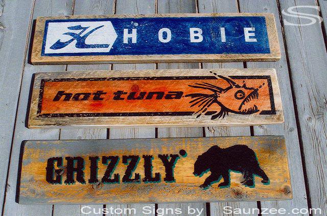 Saunzee Custom Barn Wood Sign Timber Sign Wooden Signs Rustic Signs Weathered Signs Weather Signs Point of Purchase Signs Promotional Signs Advertising Signs Visual Merchandising Signage Cool Signs