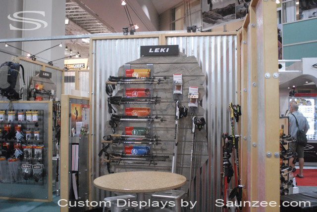 Saunzee_Custom_Displays_Trade_Show_Display_Slatwall_Display_Steel_Trekking_Poles_Slatwall_Steel_Fixtures_Manufacture_of_Fixtures_Displays_TradeShow_Fixtures_Displays_Leki_Pole_Holder_Display.jpg