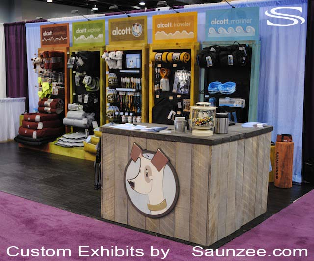 Exhibition Stand Setup : Saunzee signs exhibits booths