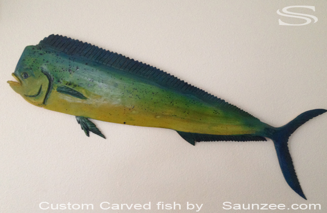 Fish Decor For Walls saunzee signs - carved 3d signs
