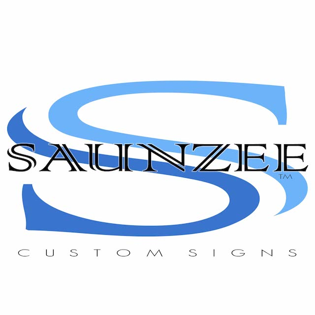 Saunzee logo Custom Signs and Displays and Trade Show Exhibits