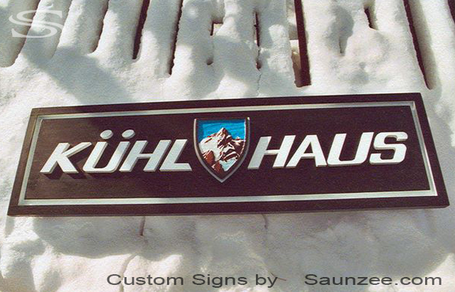 Saunzee Custom 3D Store Front Signs Resort Shop Sign in Park City Ski Shop Sign Outdoor Business Sign Commercial Sign
