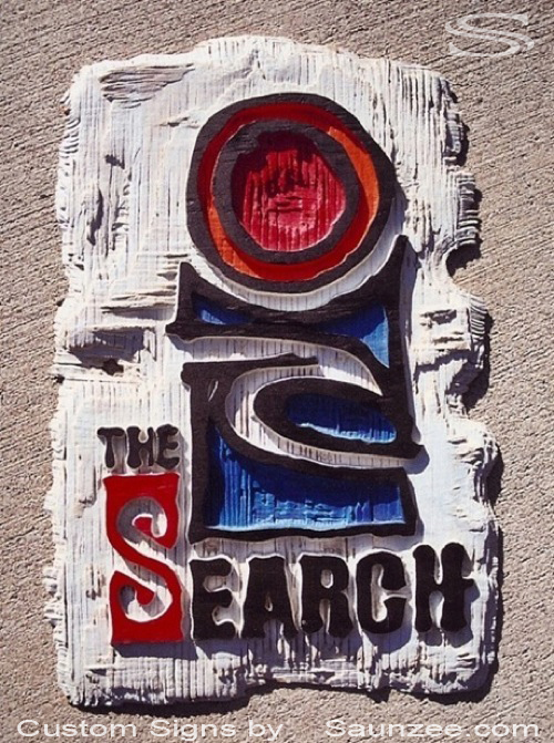 Saunzee Custom Signs Cool Signs Surf Sign Rugged Sign Retail SurfShop Sign Surf Company Rip Curl The Search