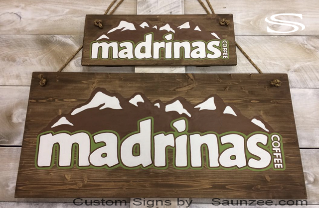 Saunzee-Custom-Signs-Pine-Wood-Sign-Coffee-Sign-Wooden-Hand-Painted-Sign-Coffee-Shop-signs-madrinas-coffee-signs