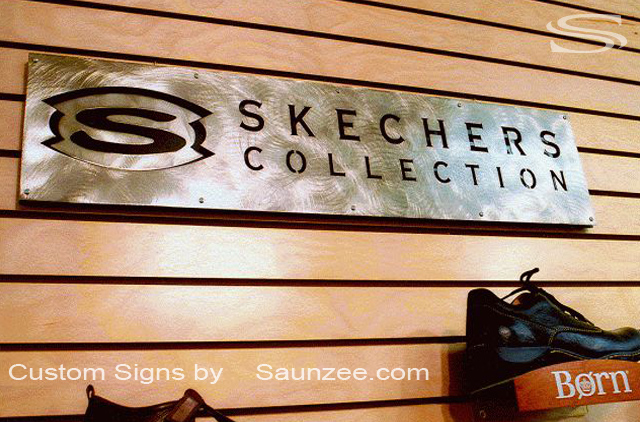 Cut Metal Letters Saunzee Signs  Steel Signs