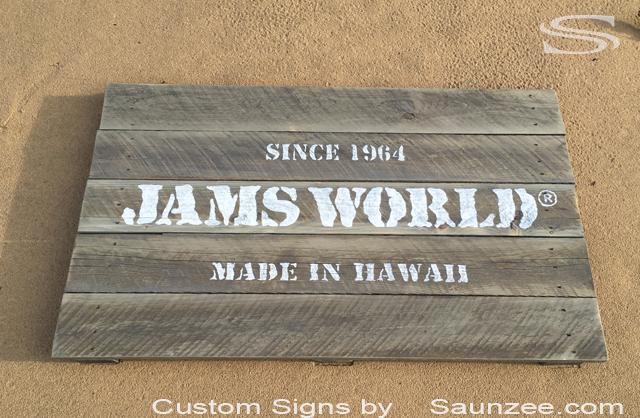 Vintage old world signs