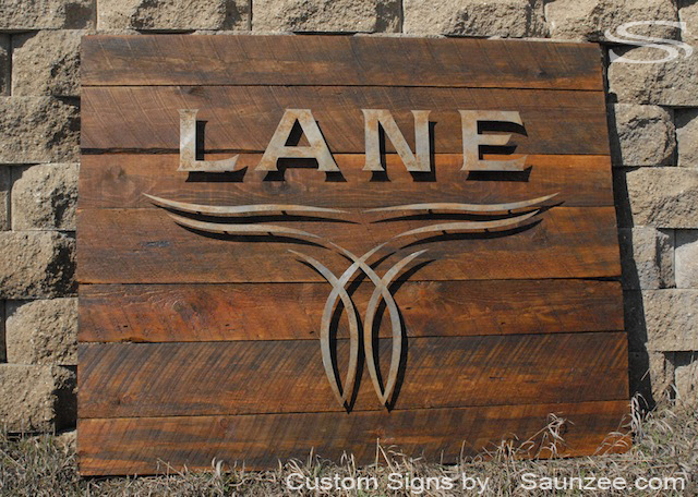 Saunzee-Large-3D-Rustic-Rough-Sawn-Timber-Wood-Sign-Offset-Rusty-Metal-Laser-Cut-Out-Sign-Lane-Boots-Show-Room-Sign-Western-Looking-Sign