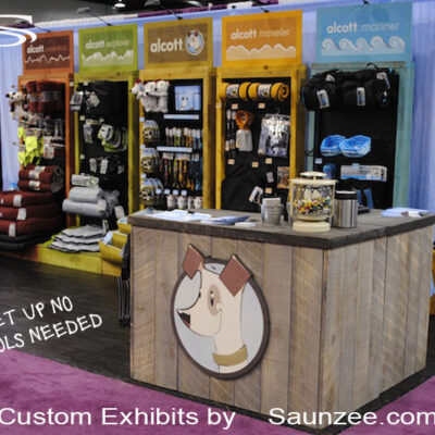 Trade Show Booths Convention Center Portable Counter Saunzee Exhibit