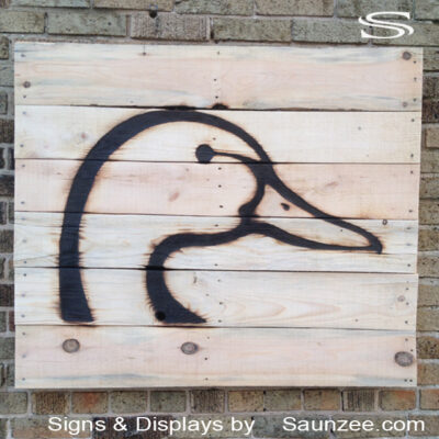 Wood Burned Signs Hunting Decor Woodburn Sign Ducks Unlimited Signs Saunzee Signs